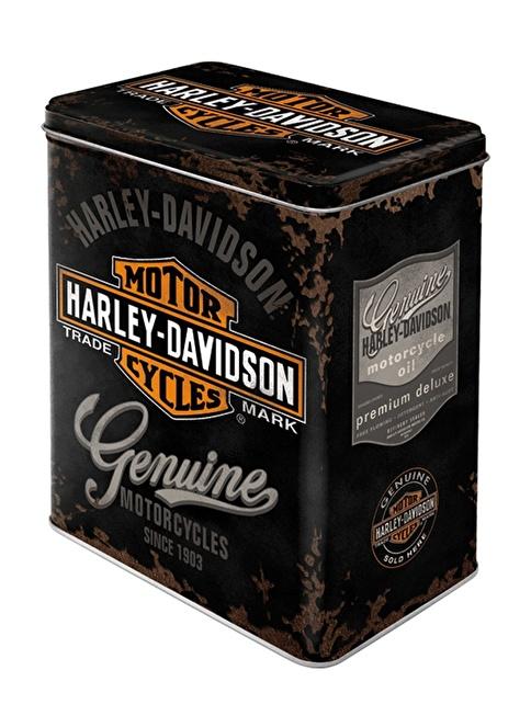 Nostalgic Art Harley Davidson Genuine Saklama Kutusu Renkli